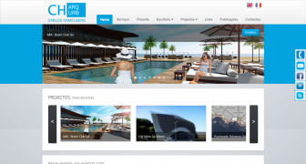 Website Carlos Hamelberg Arq e Urb